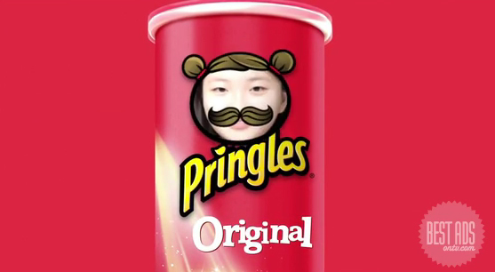 Toaster Singapore invites Koreans to star as the face on the Pringles can and the mustachio-ed Mr. Pringles