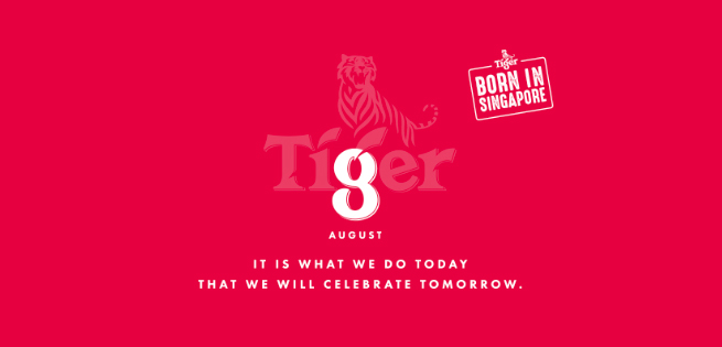 GOVT, THE LAB and Tiger Pay Homage to The Day Before Singapore's National Day