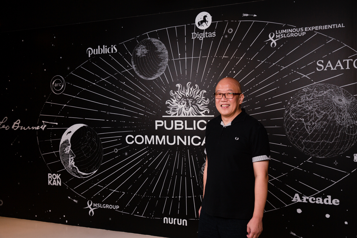 Ng Tian It Joins Publicis Groupe Singapore as ECD for Health Promotion Board Singapore's 'Power of One' Team