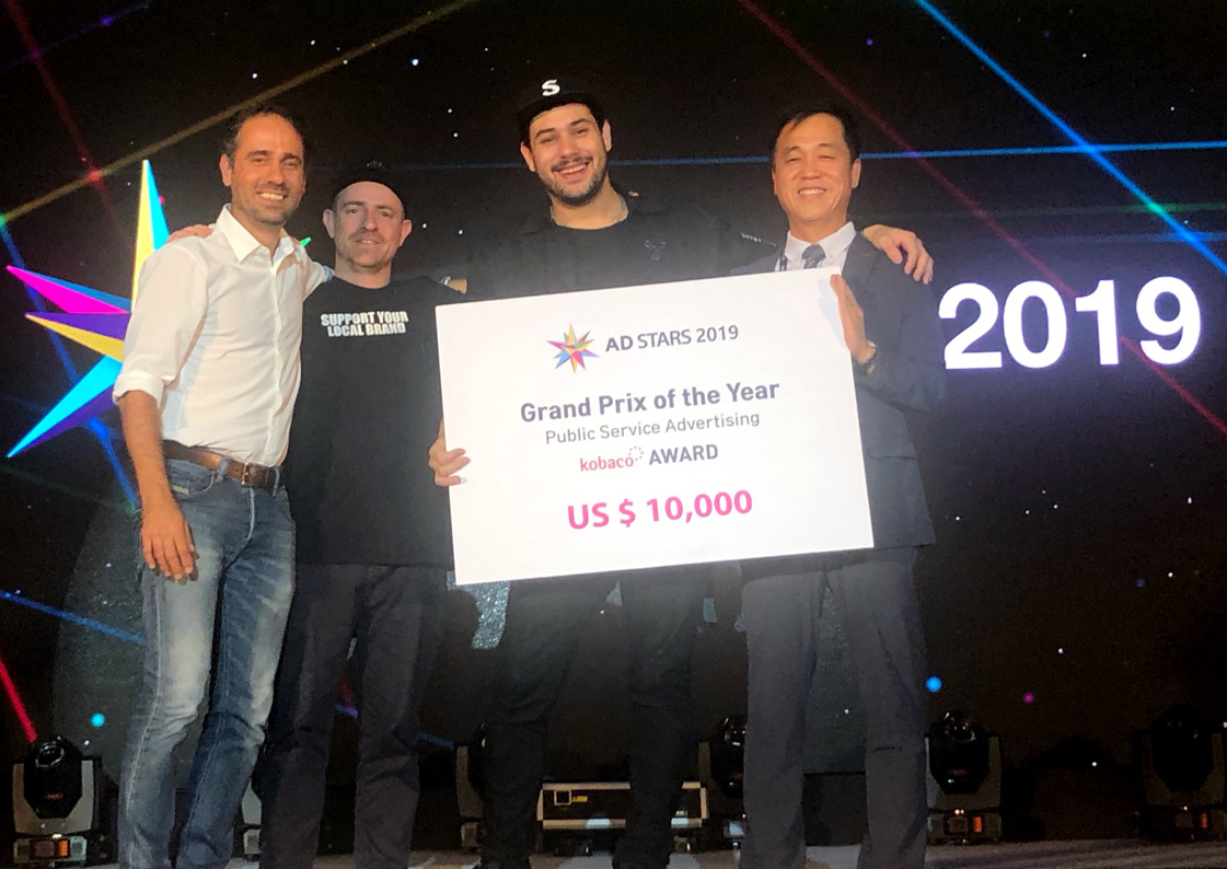 12 Grand Prix trophies and 43 Golds awarded at AdStars 2019