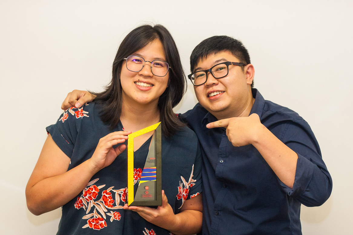 OMD's Sher Ren Tam and Raymond Liew win Malaysia's first Young Spikes
