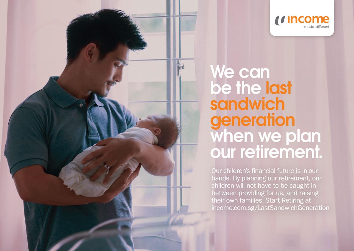 Income urges Singaporean parents to be The Last Sandwich Generation when planning retirement