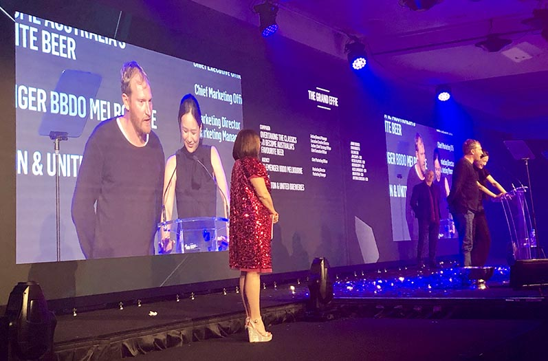 BMF takes out Effective Agency of the Year title at Australian Effie Awards; Clemenger BBDO Melbourne wins the Grand Effie for CUB campaign