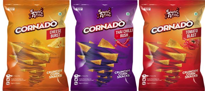 Cornado Snacks India and Zero Gravity Communications release #DARETORESIST