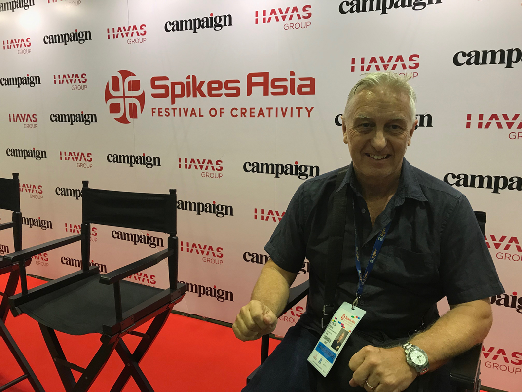 Chris Kyme Spikes Asia diary day 1