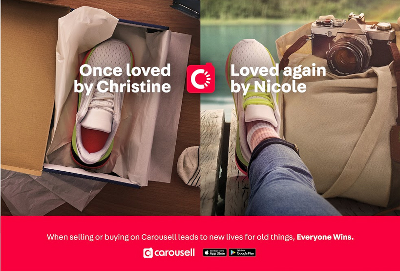 Carousell Launches First-Ever Brand Campaign In Collaboration With 72andSunny Singapore