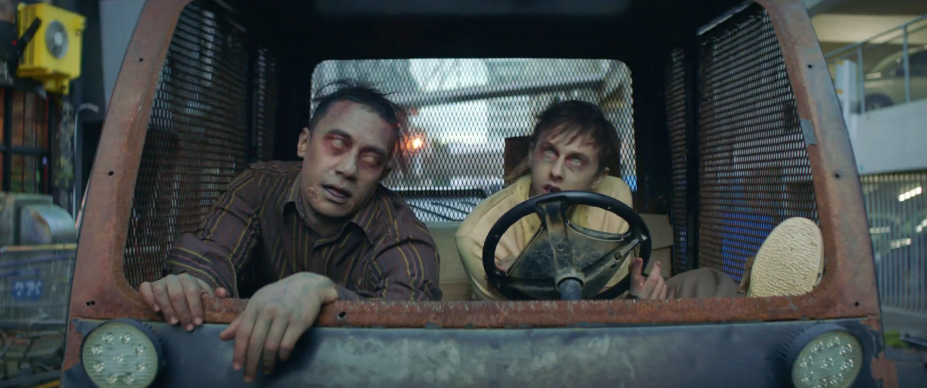 Lemon & Paeroa gives two zombies the best day ever in latest campaign via DDB New Zealand