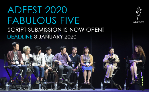 Looking to advance your filmmaking career then submit your scripts to AdFest's Fabulous Five 2020 program
