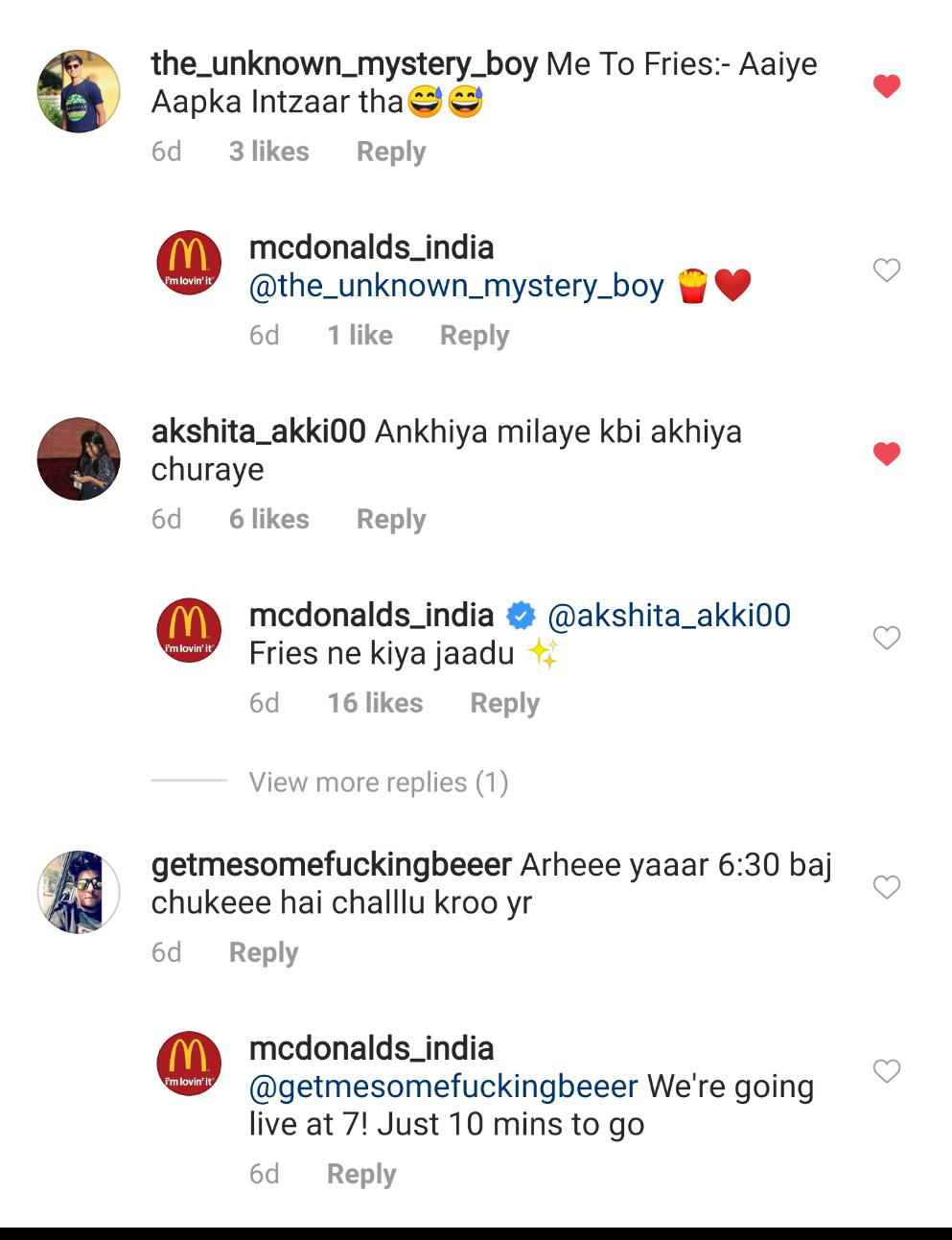 22feet Tribal Worldwide India taps Instagram music for new McDonald's digital campaign