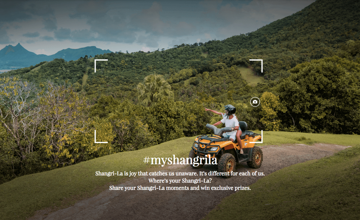 Shangri-La works with Ogilvy Hong Kong to create global campaign that encourages travelers to capture and share their most inspiring Shangri-La moment
