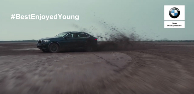 BMW India and Ogilvy's message is some things in life are best enjoyed only when young