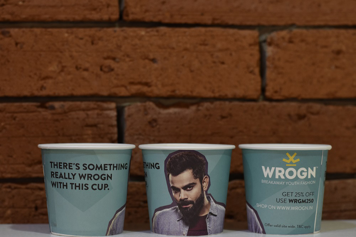 WROGN leverages CupShup Mumbai's corporate network for the launch of their latest collection
