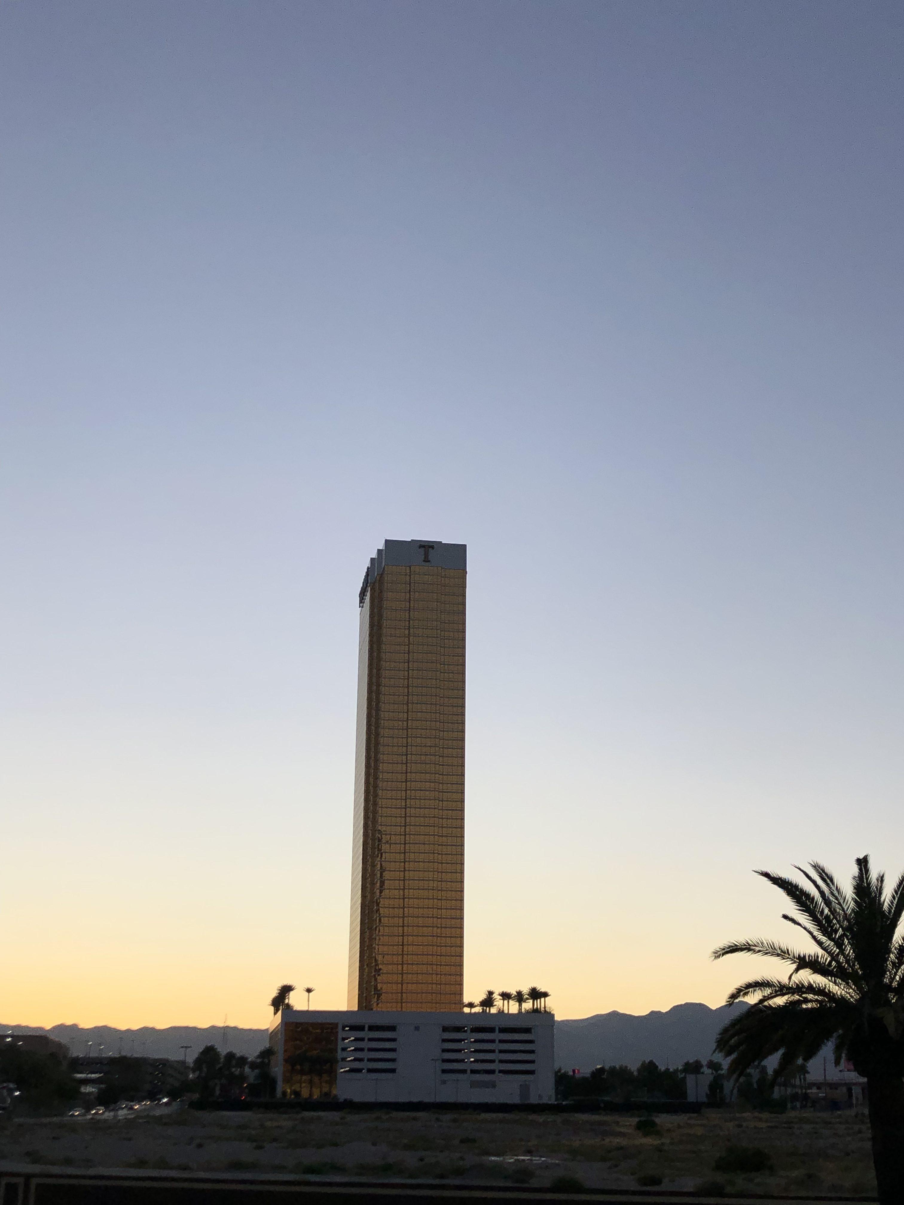 Wilf Sweetland's LIA Diary from Las Vegas #1