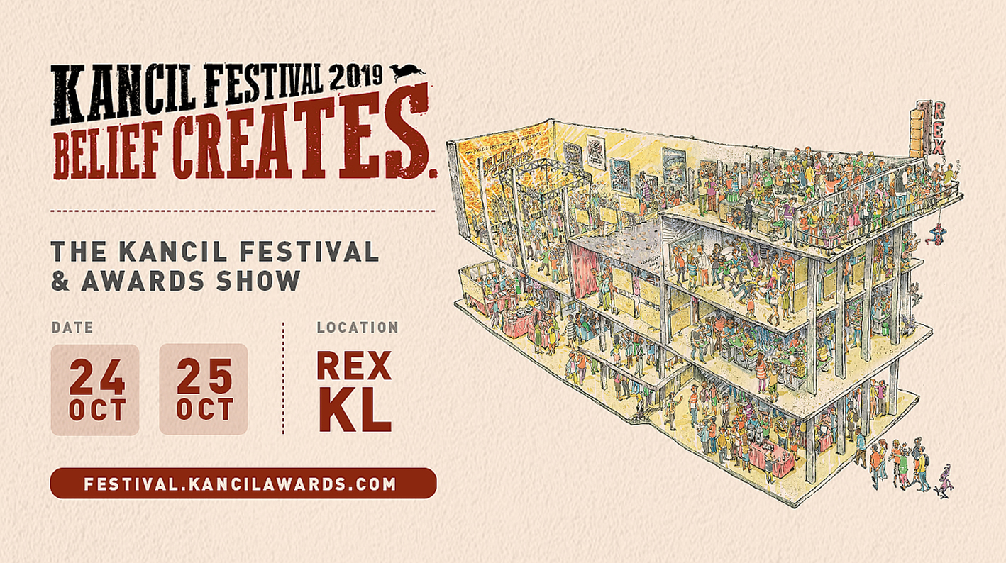 Kancil Creative Festival in Malaysia become bigger and better with diverse speakers for a creative audience