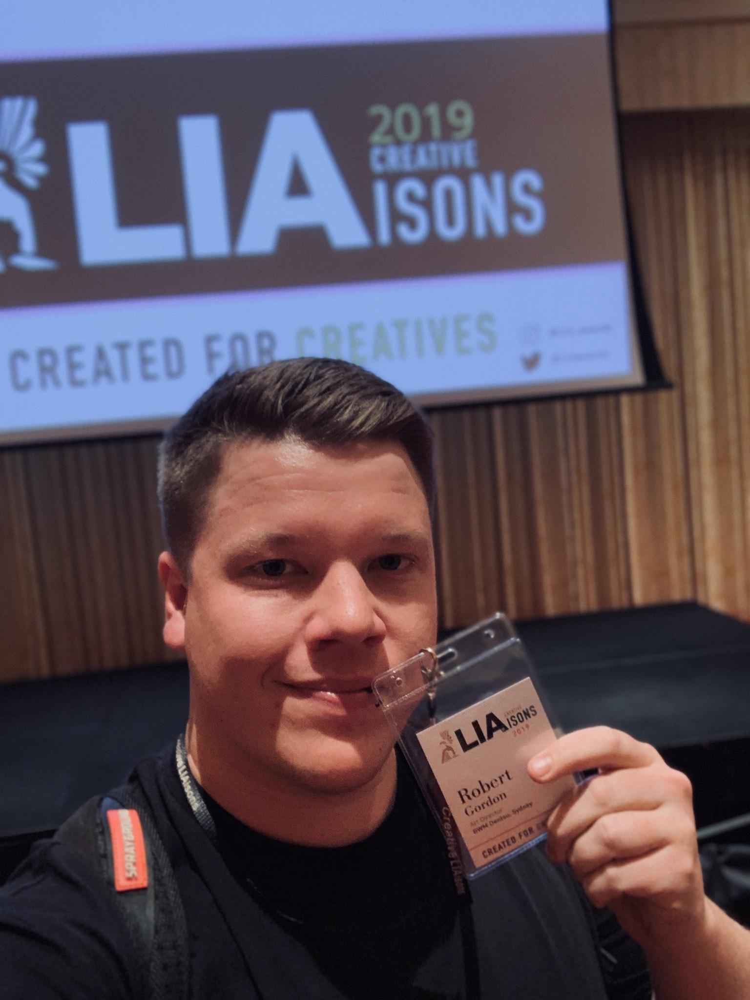 Rob Gordon's Creative LIAisons Diary