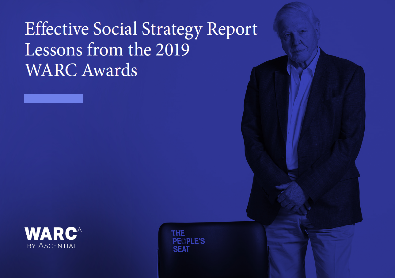 WARC uncovers current social strategy trends for effective marketing in latest report