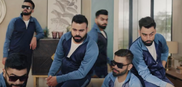 FCB Interface gets 11 Virats into one room in a campaign for Blue Star Air Conditioners