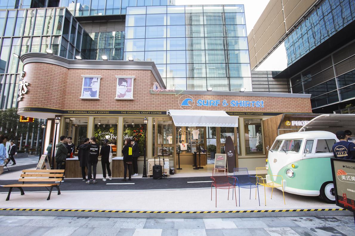 Jack Morton appointed to recreate original Peet's Coffee shop in Shanghai
