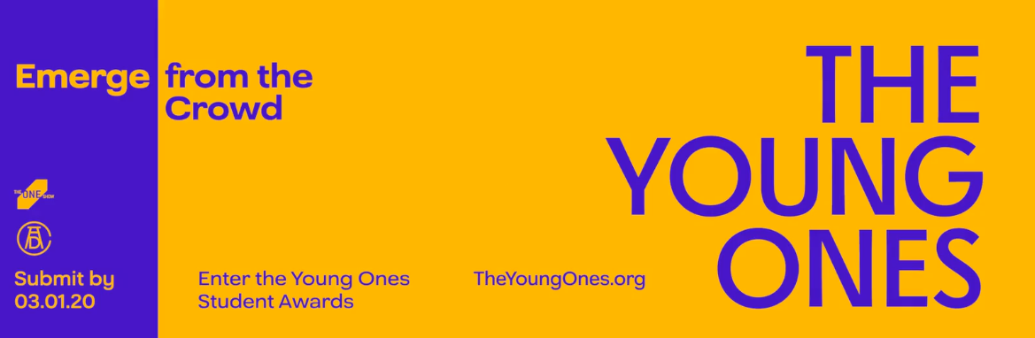The One Club for Creativity launches global Call for Entries for 2020 Young Ones Student Awards