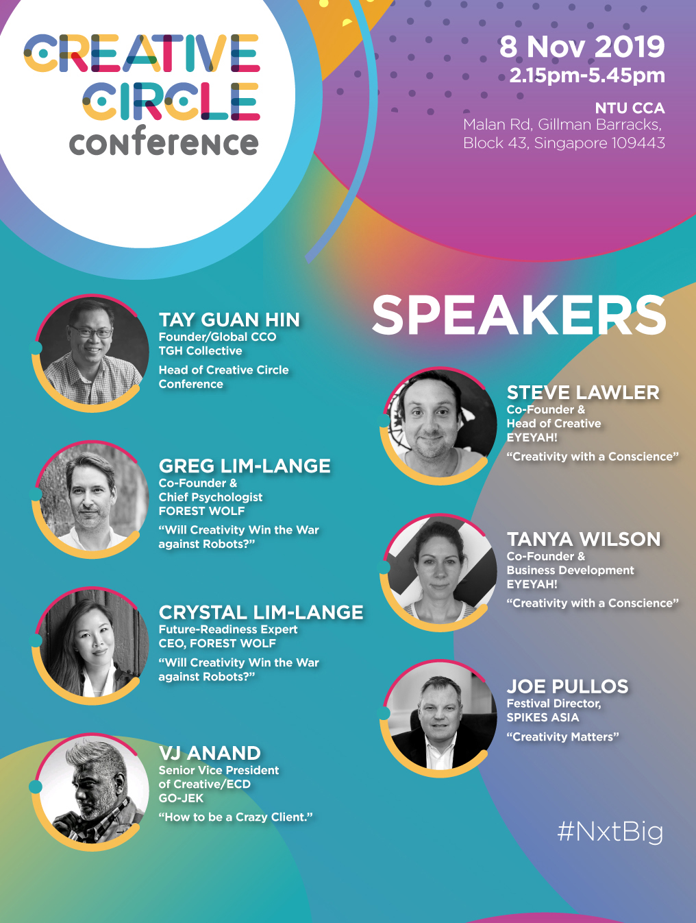 Creative Circle Conference Singapore inspires creativity in shaping your NxtBig idea