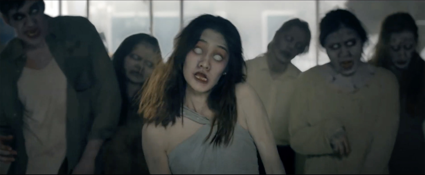 A zombie Walking Dead apocalypse is halted by beauty supplement brand Chame in this new campaign out of GREYnJ UNITED Bangkok