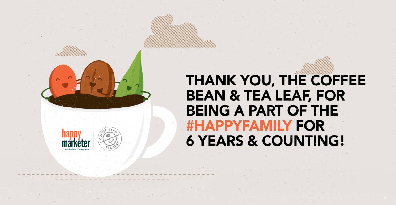 The Coffee Bean and Tea Leaf reappoints Happy Marketer as digital partner for the 6th consecutive year