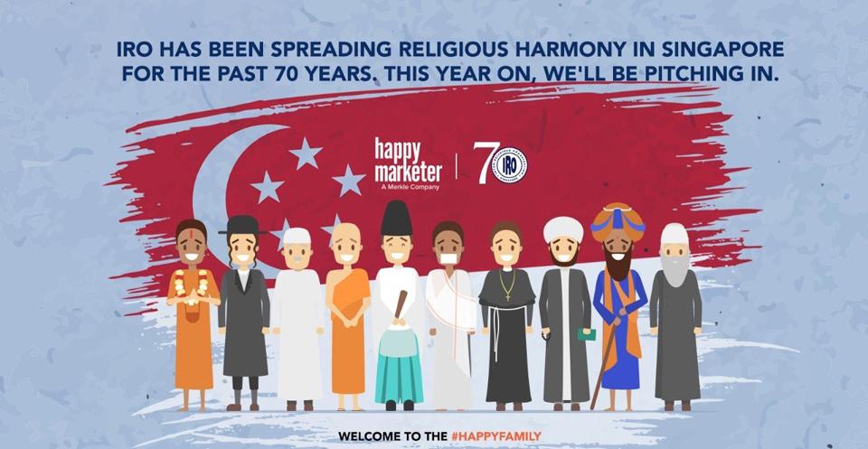 Singapore's Inter-Religious Organisation names Happy Marketer as brand storytelling partner