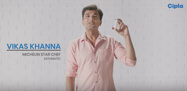 Cipla India Advocates appropriate therapy for asthma through usage of inhalers in a film via Schbang