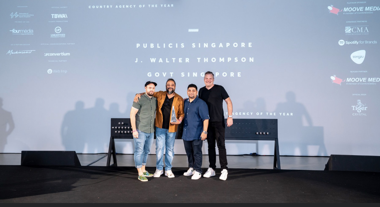 Publicis is Spikes Asia's Country Agency of the Year for Singapore