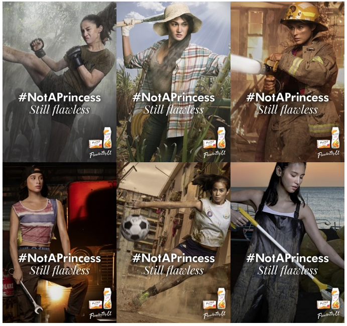 Petch&Partners Philippines creates #NotAPrincess campaign for Flawlessly U