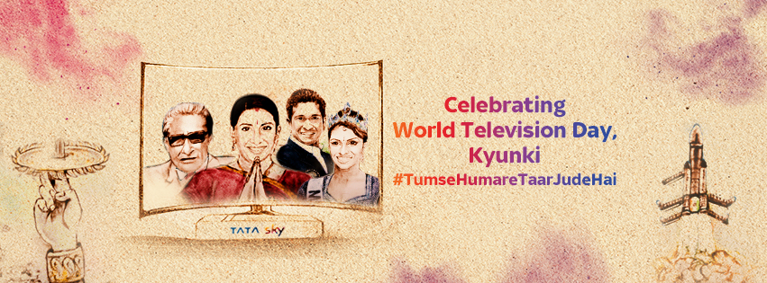 Chimp&z Inc and Griffin Pictures create An Ode to Entertainment: Tata Sky's #WorldTelevisionDay Campaign