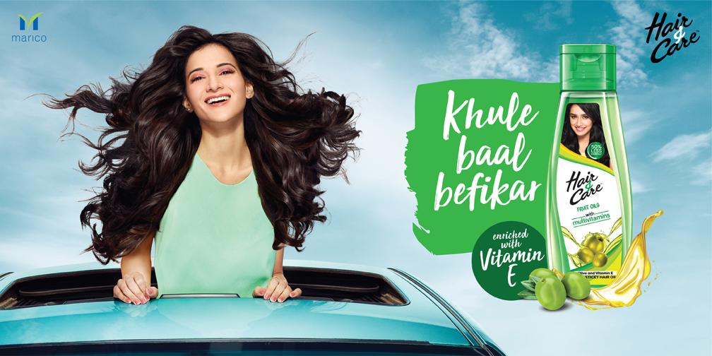Marico's Hair & Care celebrates the joy of open hair with its latest campaign #KhuleBaalBefikar via BBH India