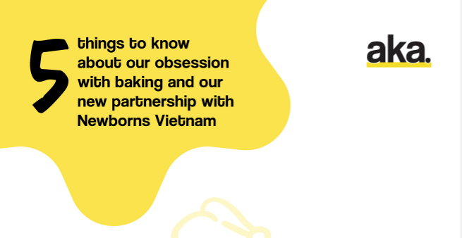 AKA Asia's Annual Fundraiser Returns Bigger and Better than Ever with #BakingforBabies for Newborns Vietnam