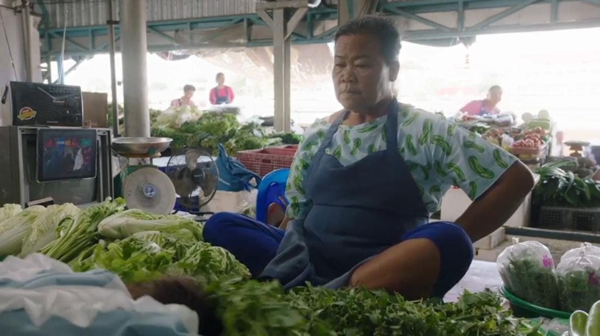 Leo Burnett Bangkok and Thai Health Promotion Foundation encourage people to consume nontoxic vegetables