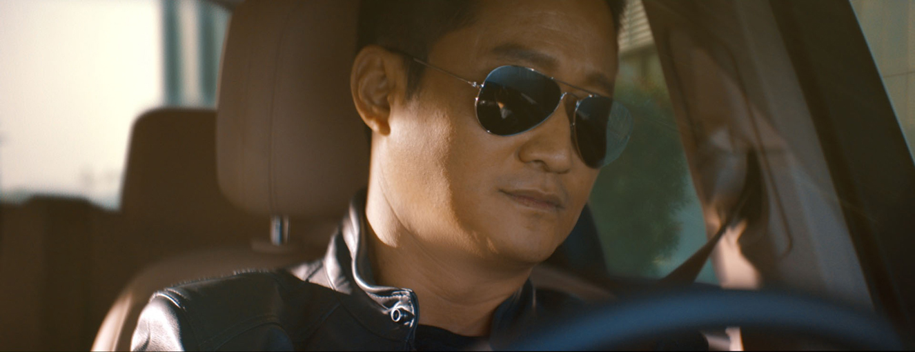 Chinese celebrity Wu Jing teaches a test driver to do his own stunts in a spot via Goodstein for Volkswagen Touareg