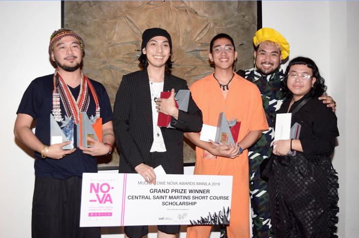 Winners of 2019 MullenLowe NOVA Awards Manila released