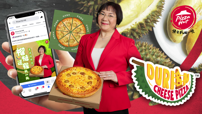 Ogilvy launches new campaign to introduce Durian Cheese Pizza for Pizza Hut Hong Kong