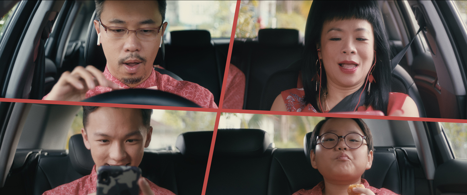 Singtel ushers in the festive season with a Chinese New Year comedy film entitled His Grandfather's Road