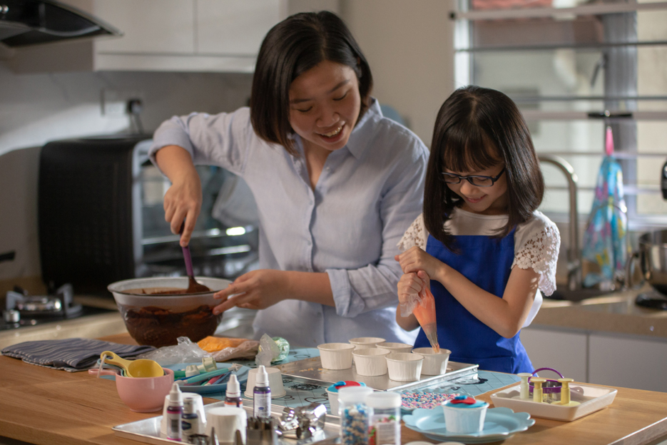Ten-year-old chef shares her story in FCB Kuala Lumpur and RHB Bank's latest CNY film