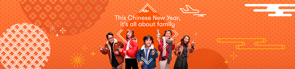 Cathay Pacific says this Chinese New Year It's All About Family via new Leo Burnett Hong Kong campaign