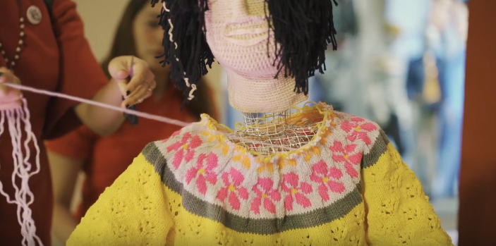 Alaska Milk Corporation and MullenLowe Philippines create knitted sculptures that mimic the effects of Dementia