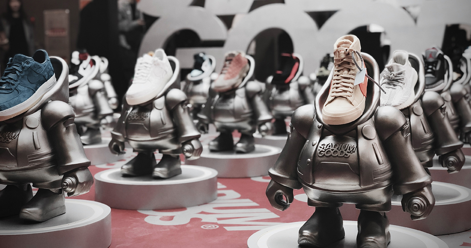 GPB Shanghai Bigs Up Stadium Goods With 'Priceless' Sneakerhead Figurine