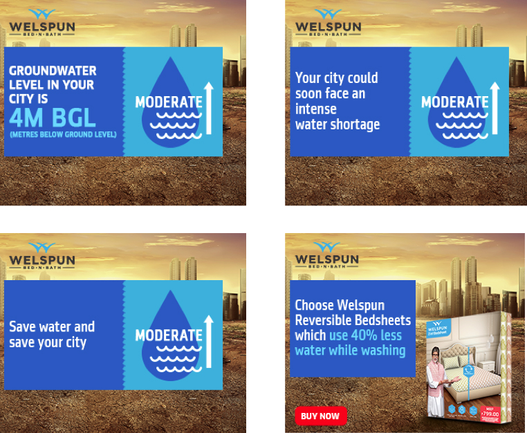 FoxyMoron and Welspun highlight Indian water crisis via innovative mobile ads based on severe ground water levels
