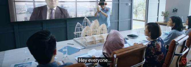Virtual and Reality collide in an amusing CNY spot for Tenaga Nasional Berhad via Reprise Digital Malaysia