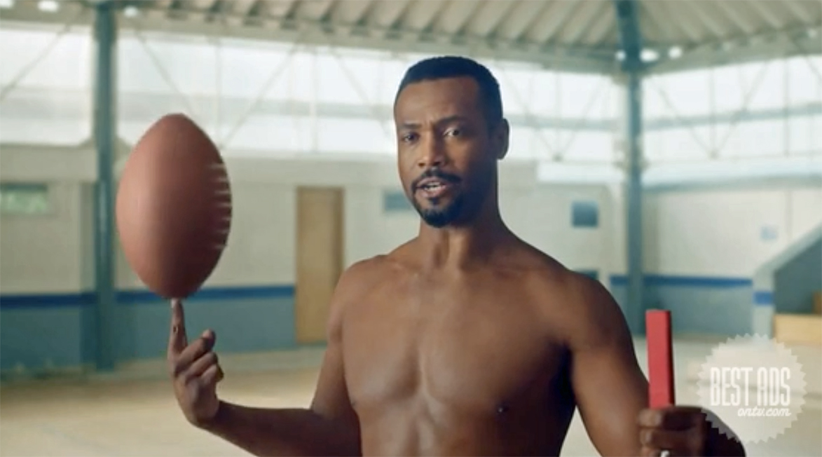 Seen+Noted: Isaiah Mustafa calls on his son to 'Smell like your own man, man' for Old Spice