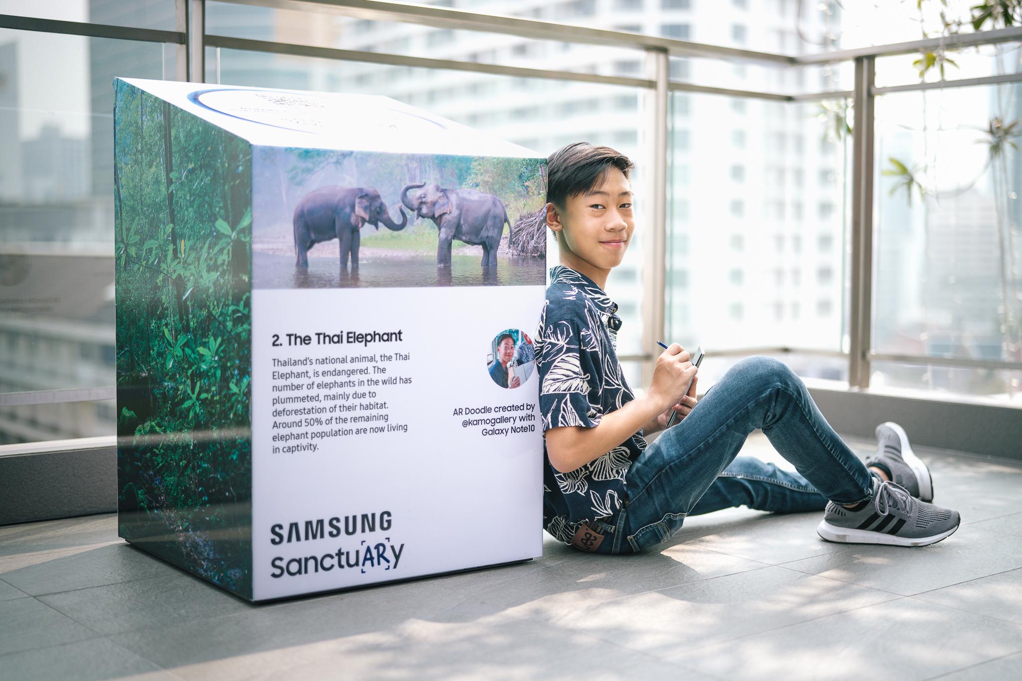 Samsung teams up with Thai creators to launch AR wildlife sanctuary via We Are Social