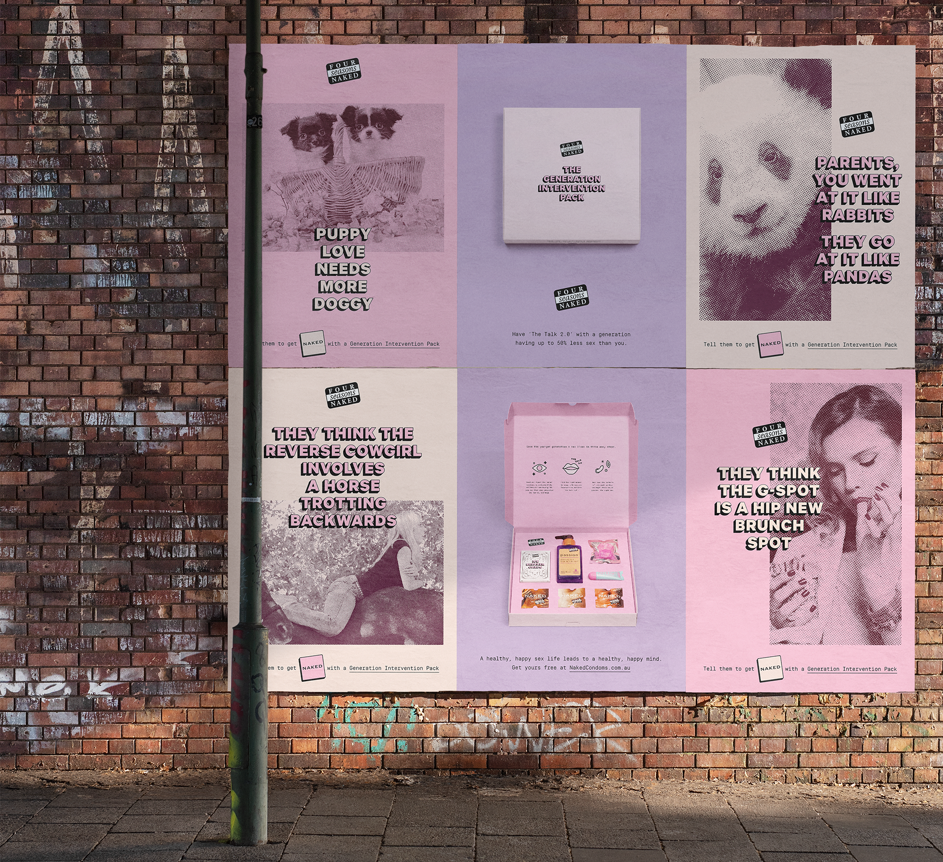 Seen+Noted: Four Seasons Condoms launches new 'Generation Intervention' campaign to end the millennial sex recession
