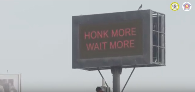 How the Mumbai Traffic Police and FCB Interface took on the honking brigade with some tech and typical Mumbai humour