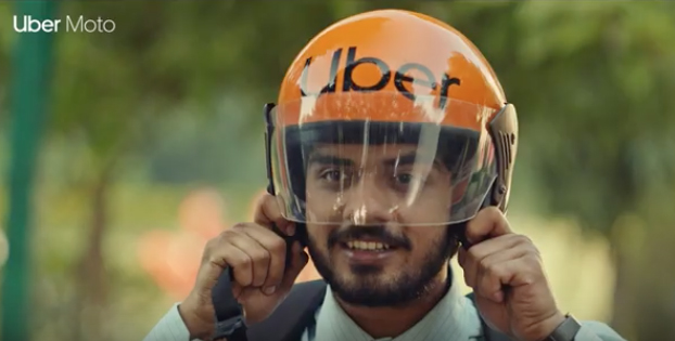 Uber Moto says don't let the traffic beat your dreams in a campaign by Lowe Lintas India