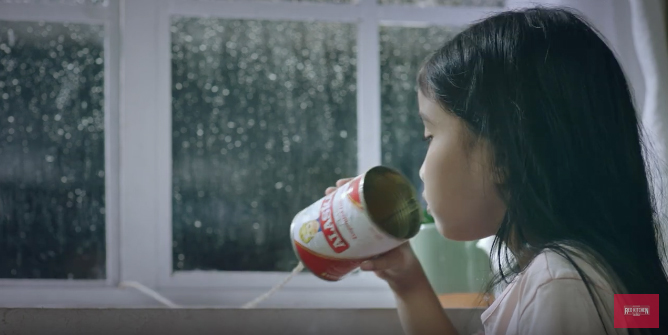 In Troubling Times Alaska Milk and MullenLowe Philippines offer the World Love in a Can